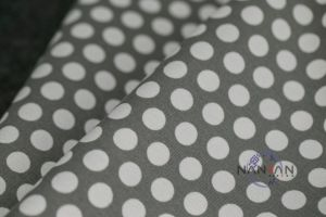DOT or Flower Printed Streth Denim Fabric pictures & photos