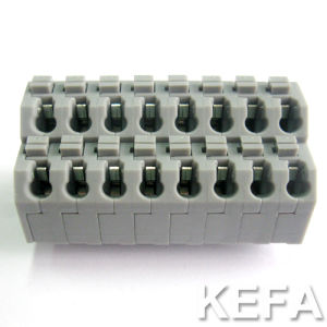Euro Type PCB Spring Terminal Block Connector Manufacturer Similar to Phoenix Combicon Contact for Wire Connection (KF250T) pictures & photos
