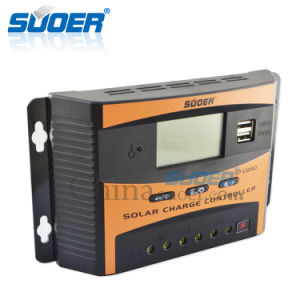 Suoer 12V 40A Intelligent PWM Solar Controller Solar Charge Controller (ST-C1240) pictures & photos