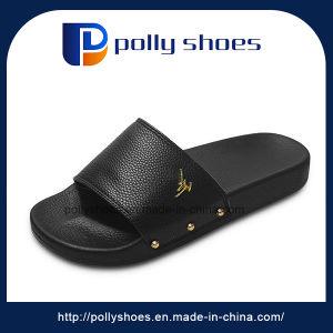 Wholesale Platform Man Slipper Rubber PU Slipper Shoe pictures & photos
