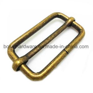 Antique Brass Metal Adjustable Slide Buckle pictures & photos