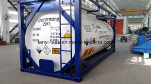ASME Certified and T11 Specification Tank Container for Hazardous Products pictures & photos