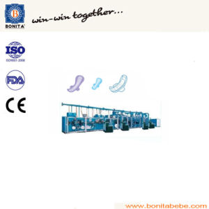 Full Servo Automatic Sanitary Napkin Machine pictures & photos