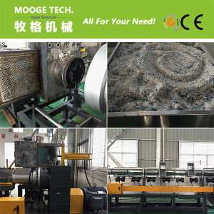 HDPE recycle plastic granules making machine price pictures & photos