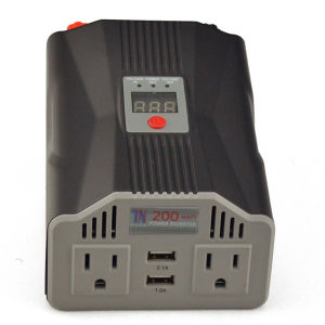 Digital Display AC Inverter with USB Charger pictures & photos