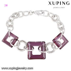 74679 Fashion Charm Bracelet with Crystals From Swarovski Jewelry pictures & photos