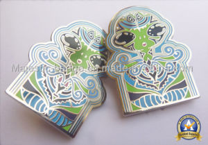 Customized Zinc Die Cast Plating Nickel Hard Enamel Badge pictures & photos