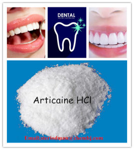 Local Anesthetic Articaine Hydrochloride Pharmaceutical Intermediate for Dental Local Anesthetic pictures & photos