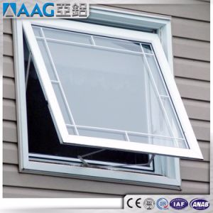Top Hung Ventilation Glass Window pictures & photos