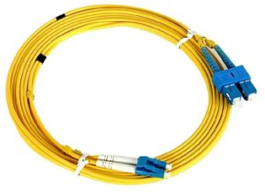 Sc/Upc to LC/Upc Sm Duplex Fiber Optic Jumpers/Patch Cable pictures & photos