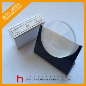 Semifinished 1.67 Sph Single Vision Optical Lens Hc pictures & photos