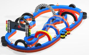 2017 Outdoor Inflatable Speedyway Go Kart Race Track for Sale (CHSP359) pictures & photos