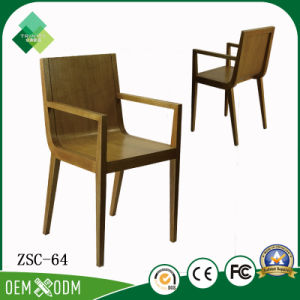 Modern Simple Style Solid Wood Armchair For Restaurant (ZSC 64)