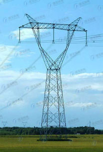 Galvanized Steel Power Transmission Tower pictures & photos