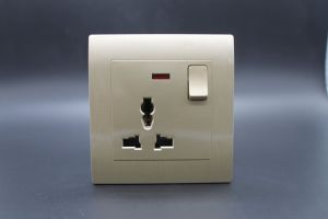 1 Gang Wall Socket European Style Silver pictures & photos