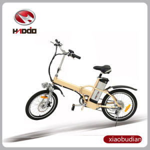 20′′ En15194 Cheap Mini Electric Folding Bike for Adult pictures & photos