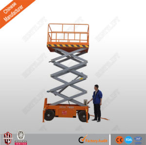 Hot Sale Cheap Hydraulic Manual Mobile Scissor Lift with Ce pictures & photos