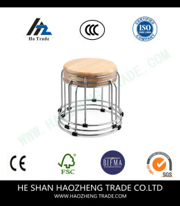Hzmc146 The Top of The Metal Framework Log Stool pictures & photos