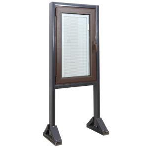 Double Glazing Thermal Break Aluminum Casement Window pictures & photos