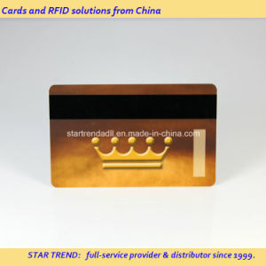Plastic Magnetic Stripe Card with Full Colors as Jewellery Card pictures & photos