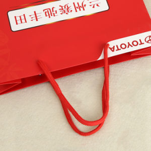 Promotional Paper Tote Bags with Gloss Lamination (GB-08) pictures & photos