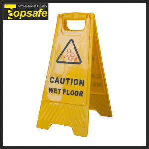 Yellow Wet Floor Plastic Caution Board (S-1631) pictures & photos
