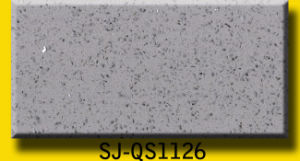 Crystal White Sparkle Quartz Slabs for Us Market pictures & photos