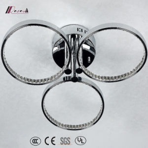 Circular Crystal Chandelier Lighting with Aluminum for Decoration pictures & photos