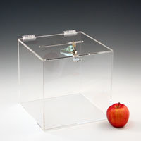 Customize Clear Cube Vote Acrylic Box pictures & photos