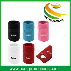 Wholesale High Quality Zip Wallet Pocket Sweatband pictures & photos