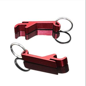 Hot Sale Aluminum Keyring for Promotional Gift pictures & photos
