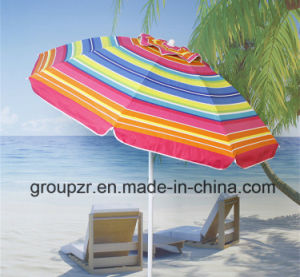 2m Outdoor Beach Umbrella Sun Umbrella UV Proof pictures & photos