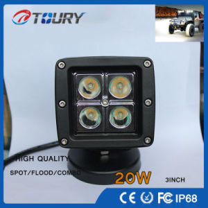 CREE Auto Parts 20W Car Spot Lighting for Truck LED Work Light pictures & photos