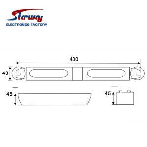 Warning LED Vehicle Tir Dash Deck Light (LED267) pictures & photos