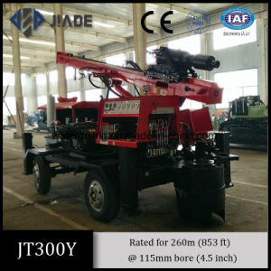 Jt300y High Performance Four-Wheel Portable Water Well Drilling Rig pictures & photos