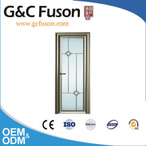 Decorative Aluminum Casement Doors for Bathroom pictures & photos