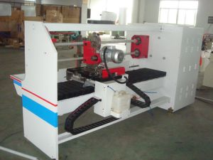 PVC Tape Electric Tape Cutting Machine/Insulation Adhesive Tape Cutter pictures & photos