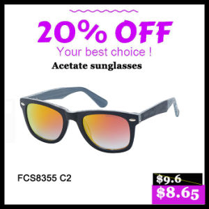 Fashionable Woman New Style Acetate Sunglasses (FCS8355) pictures & photos