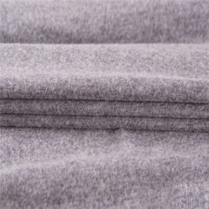 Wool/Nylon Fabric Good Elasticity in Deep Gray pictures & photos