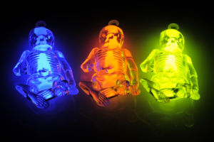 Halloween Light in The Dark Glow Ghost (M-48152) pictures & photos