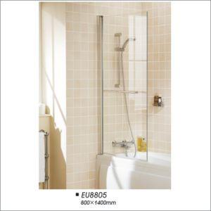 Cheap Pivot Tub Screen, Shower Glass Screen Door, Single Bathtub Screen pictures & photos