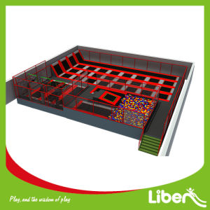 TUV Approved Made in China High Quality Large Trampoline Park pictures & photos