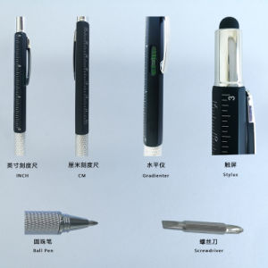 2017 New Design Ballpoint Pen with Scale (L008) pictures & photos