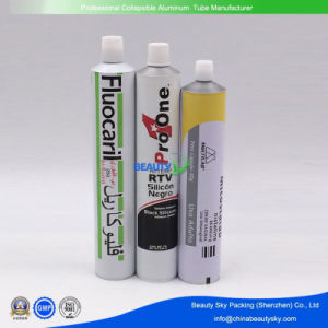 Hi-Temp RTV Silicone Negro Packaging Aluminum Tubes Dia. 30mm Volum 70g pictures & photos