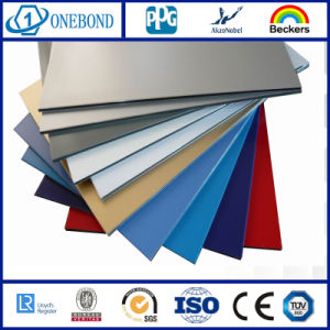 China SGS Certified PE Coated Aluminum Composite Panels pictures & photos