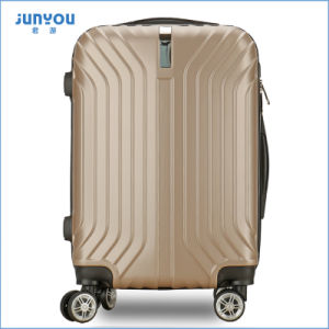 Newest Coming ABS Travel Trolley Suitcase Luggage pictures & photos