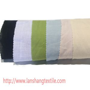 Plain Dyed Linen Fabric for Dress Shirt Skirt Sofa Curtain pictures & photos
