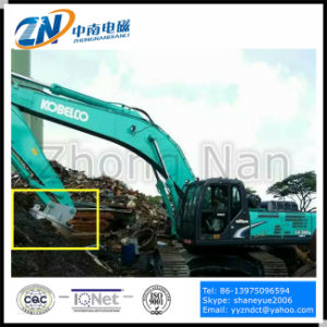 Lifting Magnet Suiting for Excavator with 1000kg Lifting Capacity EMW-120L pictures & photos