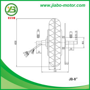 Jb-8′′ 8 Inch Brushless DC Gearless Hub Motor for Sale pictures & photos
