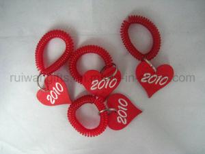 Spiral Keyring, spiral ID Key Holder pictures & photos